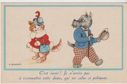 Animaux : Chat Et Chien Humanisés - Cats