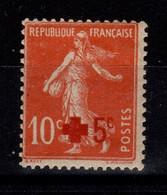 YV 146 N* (infime) Croix Rouge Cote 6 Euros - Nuevos