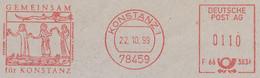 Freistempel Kleiner Ausschnitt 778 Gemeinsam Für Konstanz Figuren - Affrancature Meccaniche Rosse (EMA)