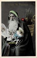 Belle Carte Vive St-Nicolas Circulée En 1910 - San Nicolás