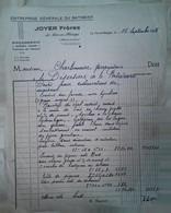 H 1 Facture/document Entete Batiments à  Le Pin En Mauges - Sin Clasificación