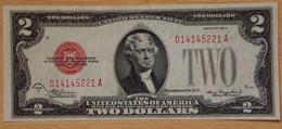 ÉTATS-UNIS D'AMÉRIQUE 2 Dollar 1928 D - United States Notes (1928-1953)