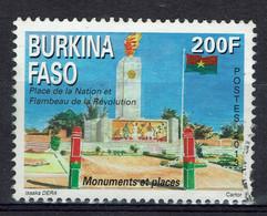 Burkina Faso, Place De La Nation, Flambeau De La Révolution, 2013, Obl, TB - Burkina Faso (1984-...)