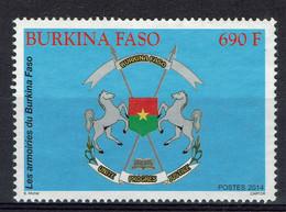 Burkina Faso, Armoiries, 2014, Obl, TB - Burkina Faso (1984-...)
