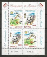 Feuillet  Monaco Neuf **  N 2465/2466 Vendu Au Prix De La Poste - Nuovi