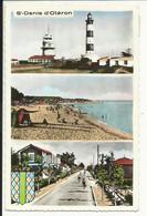ILE D'OLERON , SAINT DENIS D' OLERON , Le Phare De Chassiron , La Plage De La Boirie & La Route De La Plage , 1960 - Ile D'Oléron