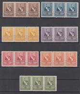 Nicaragua Oficial Mi# 370-76 ** MNH Strip Of 3 Somoza 1939 - Nicaragua