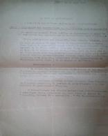 H 1 Facture/document Entete Le Chef Du Gouvernement Suspension Des Sto 23 Juin 1944 - 1939-45