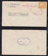 Nicaragua 1930 Cover LEON To LONDON England - Nicaragua