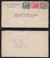 Nicaragua 1931 Cover LEON To LONDON England - Nicaragua