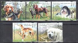 Poland 2006 - Dogs - Mi 4289-93 - Used Gestempelt - Usati
