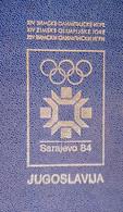 Yugoslavia / Olympic Games Sarajevo 1984 / COMPLETE Set Of Issues Of YU Post / MNH Stamps, Sheets, FDC + Cancel Sarajevo - Inverno1984: Sarajevo