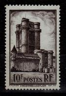 YV 393 N** Vincennes Cote 6 Euros - Neufs