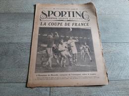 Sporting Journal Sportif Illustré 1926 La Coupe De France Marseille Valentigney Football Automobile Rugby Cycllisme - Sport