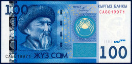 KYRGYZSTAN - KIRGUISTÁN 100 SOM P-26a Toktogul Satylganov - Toktogul Hydroelectric Power Station 2009 UNC - Kyrgyzstan