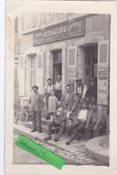 """BELLE PHOTO """"COIFFEUR G. MAZURE""""-TABAC-BUVETTE-PARFUMERIE-CHAPELLERIE- Belle ANIMATION-VELOS- CHIEN    (16/4/21) - Shops"""