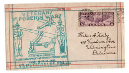 Militaria Veterans Foreign Wars 1932 ST Petersburg - Militaria