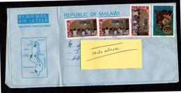 MALAWI AEROGRAMME AIR LETTER - Malawi (1964-...)