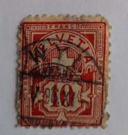 N°60 - Suisse,Schweiz, Switzerland - Gebruikt