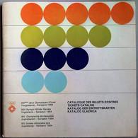 Yugoslavia / Olympic Games Sarajevo 1984 / Tickets Catalog, Katalog Der Eintrittskarten,Billets / Program - Libri