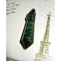 Fuschite Pendentif 3,7 Cm Pierre 3,2 Cm Pierre Naturelle Bien être Et Santé (2) - Minerals