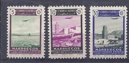 210038756  MARRUECOS. EDIFIL  Nº  297/9  RESTOS DE PAPEL - Marruecos Español