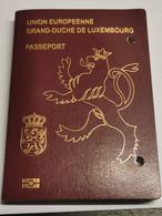 Passport Luxembourg 2012, Avec Cachets. Scans South Afrique, Maroc, Namibia...... - Documentos Históricos