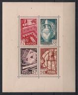 Maroc - 1950 - Bloc Feuillet BF N°Yv. 3 - Solidarité - Neuf Luxe ** / MNH / Postfrisch - Blokken & Velletjes