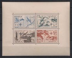 Maroc - 1950 - Bloc Feuillet BF N°Yv. 4 - Solidarité - Neuf Luxe ** / MNH / Postfrisch - Blokken & Velletjes