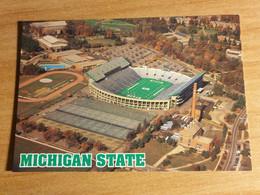East Lansing (Michigan,USA), Michigan State Campus,Spartan Stadium, Stadio-estadio-stade-stadion, Formato (size) 10x15cm - Fussball