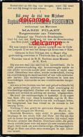 Doodsprentje Raphael Verdurmen Sint Niklaas Burgemeester En Dijkgraaf Te Thielrode En Aldaar Overleden 1938 Pilaet - Devotion Images