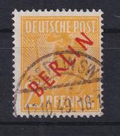 Berlin Rotaufdruck 25Pfg. Schön Gest. BERLIN SW 12.10.49 Gepr. Ing. Becker - Unclassified