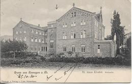 ALLEMAGNE (RHENANIE PALATINAT). GRUSS AUS REMAGEN. ST ANNA KLOSTER. 1910. - Remagen