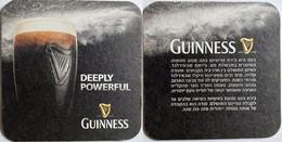 Sous Bock ,coaster , Guinness Import Israel - Portavasos