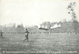 Aviation - Avions - Mr Santos-Dumont Volant à 2 Mètres Au-dessus Du Sol,à Bagatelle,le 23 Octobre 1906 - CPM - Voir Scan - ....-1914: Vorläufer