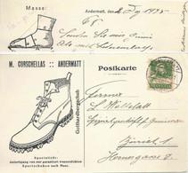 """Motiv Karte  """"Gotthard Bergschuh, Curschellas, Andermatt""""            1925 - Brieven En Documenten"""