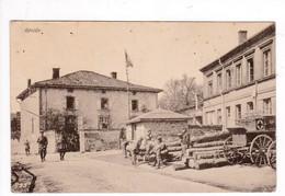 CPA  : Réville  Feldpost    Année 1917  Tampon  Damvillers  Ortskommandatur - Sonstige Gemeinden