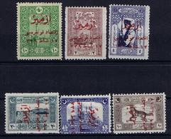 Turkey Mi 793 - 798  Isf 1103 - 1108 1922 MH/*, Mit Falz, Avec Charnière Signed/ Signé/signiert/ Approvato Richter - Nuovi