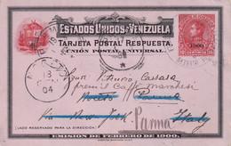 VENEZUELA 1904    ENTIER POSTAL/GANZSACHE/POSTAL STATIONARY CARTE DE PORTO CABELLO - Venezuela