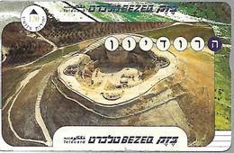 CARTE- ISRAEL -HOLOGRAPHIE-120U-ISRAEL-HERODION FORTERESSE KING HERODE-V° N°006M12472-TBE - Israel