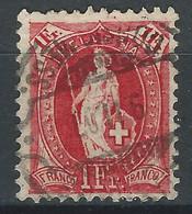 LLL-/-082- ZUMSTEIN N° 91C, OBL. ,  DENT 11½ X 12 - 14 DENTS VERTICALE - COTE 15.00 € -  IMAGE DU VERSO SUR DEMANDE - Gebruikt