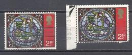 Gran Bretaña 1971, Usado,Navidad - Ohne Zuordnung