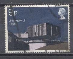 Gran Bretaña 1971, Usado, Universidad De Essex - Ohne Zuordnung