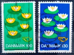 DANEMARK                          N° 636/637                         OBLITERE - Usado