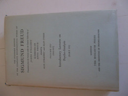 The Standard édition Of The Complete Psychological Works Of SIGMUND FREUD Vol. XVI (1916-1917) - Psychology