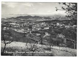 9923 - FABRIANO ANCONA PANORAMA CON VEDUTA CARTIERE MILIANI 1959 - Other Cities