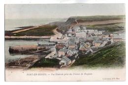 (14) 1297, Port En Bessin, Collection ND Phot Colorisée 1, Vue Générale Prise Des Falaises De Huppain, Dos Non Divisé - Port-en-Bessin-Huppain