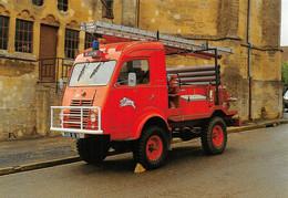 Beaumont En Argonne  Pompiers Camion Fourgon Renault Canton Mouzon - Otros Municipios