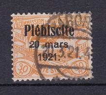 Oberschlesien - 1921 - Michel Nr. 34 - Gestempelt - Coordination Sectors