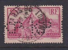 Perforé/perfin/lochung France No 290 K.P Kodak Pathé (18) - Perforés